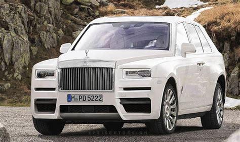 Rolls Royce Cullinan Render Based On Spy Shots And Phantom