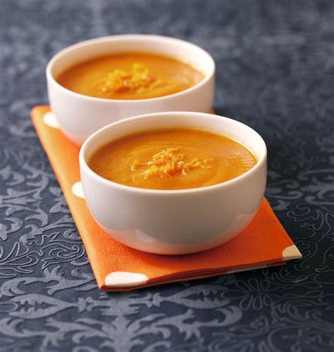 cuisiner du potimarron velouté de potimarron à l orange les meilleures recettes