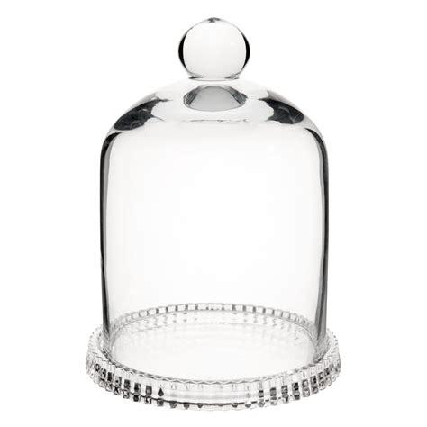 cloche en verre h 16 cm maisons du monde