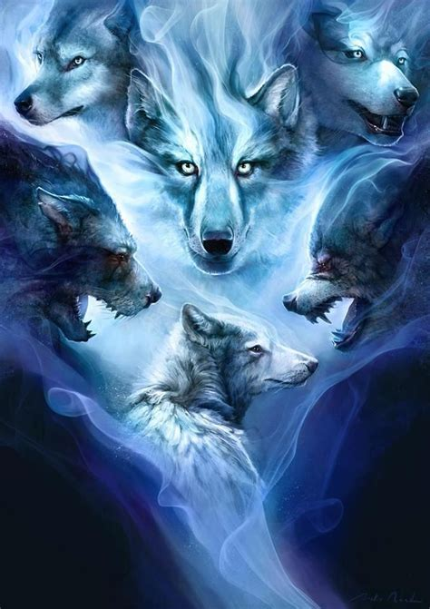 Alpha Wolf Blood Moon Wolf Wallpaper by Wolf Alpha Coders Abyss A