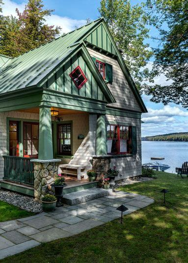 Lakeside Maine Cottage  Tms Architects Exteriors