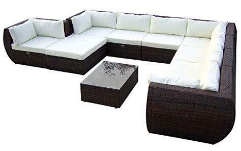 Baidani Gartenmöbel-sets 10c00015.00002 Designer Xxl Sofa