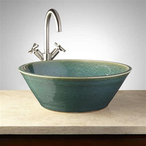 photos of vessel sinks 18 quot anya ceramic vessel sink bathroom