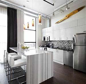 Toy factory loft kitchen interior design toronto modern for Modern kitchen design toronto