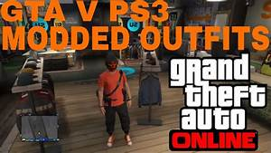 GTA V Modded Outfits I Made For Papiijp PS3 - YouTube