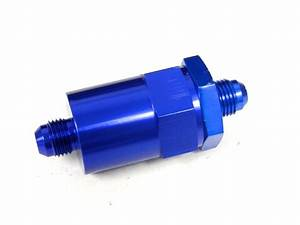 Universal Cnc Aluminum Washable Racing Inline Fuel Filter
