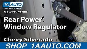 How To Replace Window Regulator 07