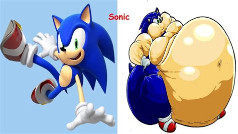 Sonic As Fat Sonic In Real Life Sonic As Monsters