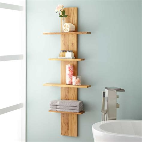 Kitchen Bar Ideas - wulan hanging bathroom shelf four shelves bathroom
