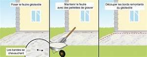 Comment faire une terrasse en gravier ooreka for Comment faire une terrasse en gravier