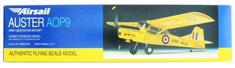 Airsail Auster AOP9 Model Kit Images at Mighty Ape Australia