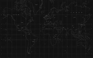 World Map Black Wallpapers HD - Wallpaper Cave