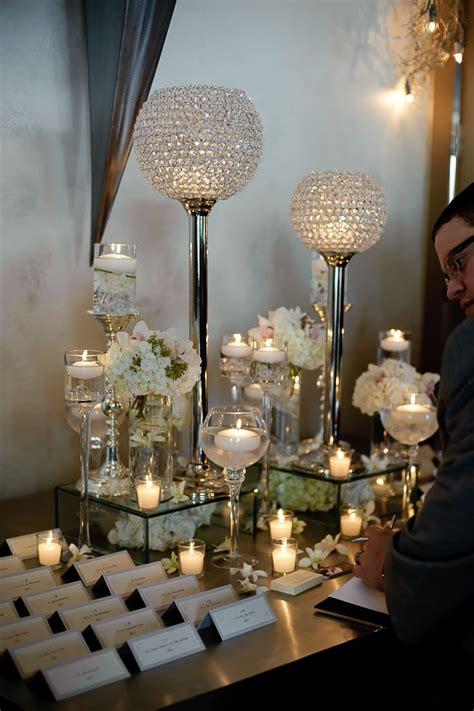 place card table arrangements wedding receptions