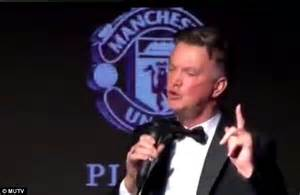 Louis van Gaal delights Manchester United fans at club's ...
