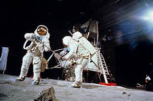 Real Apollo 11 Training Photos Look Like Prep For A Fake ...