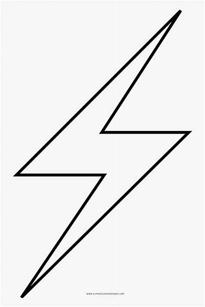 Lightning Bolt Transparent Rayo Clipart Clipartkey