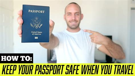 Travel Tips How To Keep Your Passport Safe While