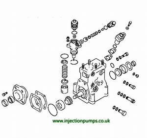 Denso Hp0 Diesel Injection Pump Seal Kit