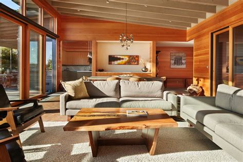 bainbridge island home  quiet design embraces