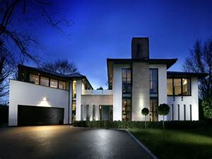 Modern Gray Contemporary Home Contemporary Home Modern ...