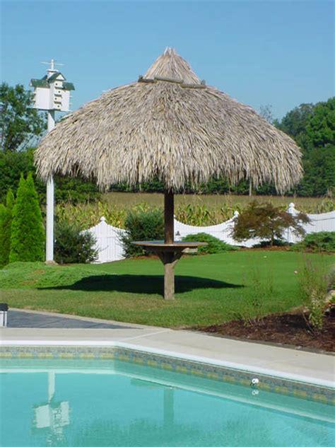 custom  palm trees residential tiki huts