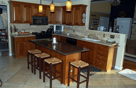 kitchen granite island a guide for kitchen island with breakfast bar and granite top
