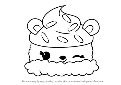 Learn How To Draw Parker Peach From Num Noms (num Noms