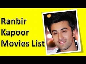 Ranbir Kapoor Movies List - YouTube