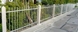 Gartenzaun Metall Verzinkt : gartenz une aus metall langlebig und preiswert ~ A.2002-acura-tl-radio.info Haus und Dekorationen