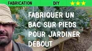 Fabriquer Un Potager Surélevé En Bois : fabriquer un bac sur pieds pour jardiner debout youtube ~ Melissatoandfro.com Idées de Décoration