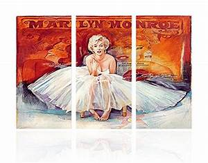 sweety decor marilyn monroe colorful photos modern wall With best brand of paint for kitchen cabinets with marilyn monroe canvas wall art