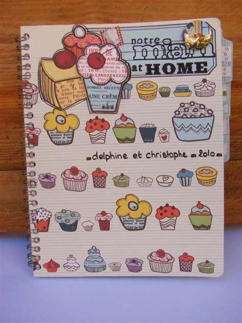 cahier de recette de cuisine cahier de recettes notre miam at home le scrap de cortaline