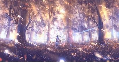 2k Anime Magic Sound Engine Surround Wallpapers