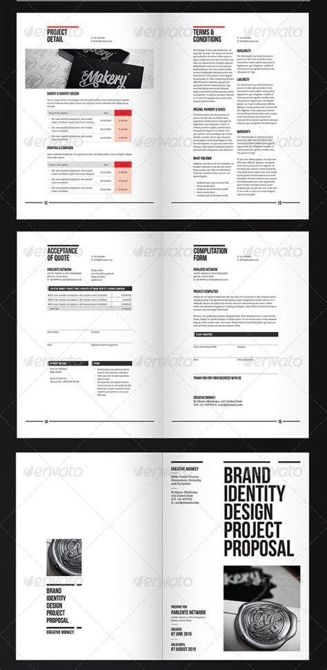 proposal templates  web design project web