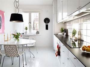 idee relooking cuisine modele de cuisine petite cuisine With idee deco cuisine avec modele de chaise de cuisine