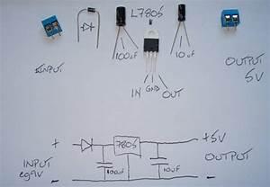 5v Power Supply Using 7805 Ic With Circuit Diagram  U2013 Readingrat Net