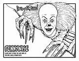 Pennywise Coloring Clown Draw 1990 Drawing Printable Horror Kleurplaat Prints Too Killer Ausmalen Paw Zum Popular Emoji Getdrawingscom Personal Neo sketch template