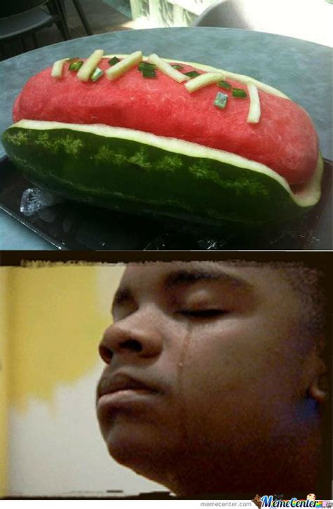 Watermelon Meme - watermelon hotdogs by redjoker meme center