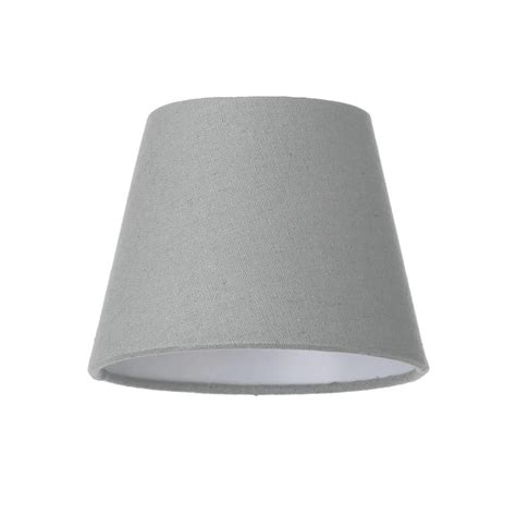 candle light l shades soft cotton candle l shade grey from litecraft