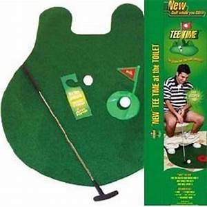 Toilet Golf Putting Green Craziest Gad s