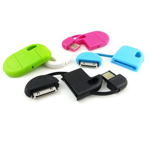 iphone keychain taff keychain charging sync data cable for iphone 4 4s