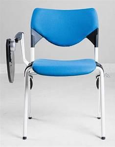 Stuhl Mit Schreibplatte : stapelbaren metallstuhl mit schreibplatte idfdesign ~ Frokenaadalensverden.com Haus und Dekorationen