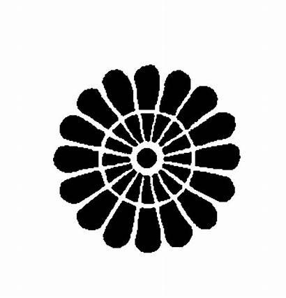 Circle Traditional Mehandi Designs Simple Clip Ornamental