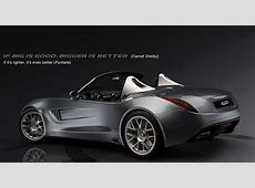 Puritalia 427 CobraInspired Roadster Renderings and