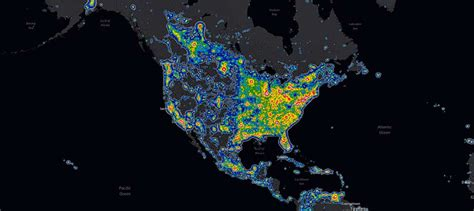pollution map skies grand national park u s national Light