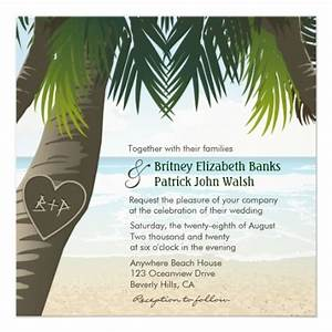 10 best palm tree wedding invitations images on pinterest With wedding invitations palm tree theme