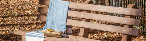 park benches finch outdoor poly furniture