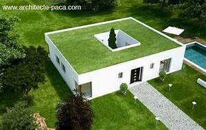 plan de maison plain pied ou plein pied construire pour With lovely toit de maison dessin 4 devis gratuit maison individuelle bois prix au m2