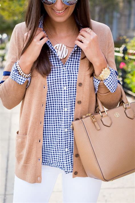 Collegiate Sweater Preppy Outfits Fashion Fall Outfits
