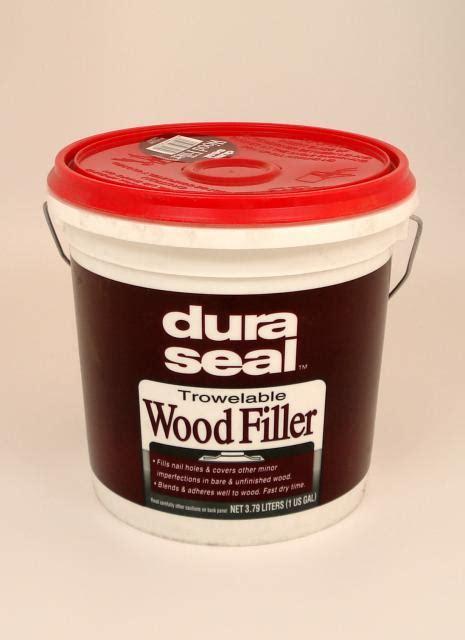 Dura Seal Brazilian Cherry Trowelable Wood Filler Gallon